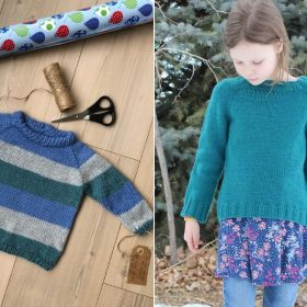 Cool Kids Pullovers Free Knitted Patterns