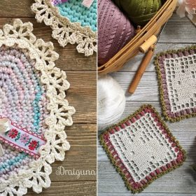 Decorative Easter Doilies Free Crochet Patterns