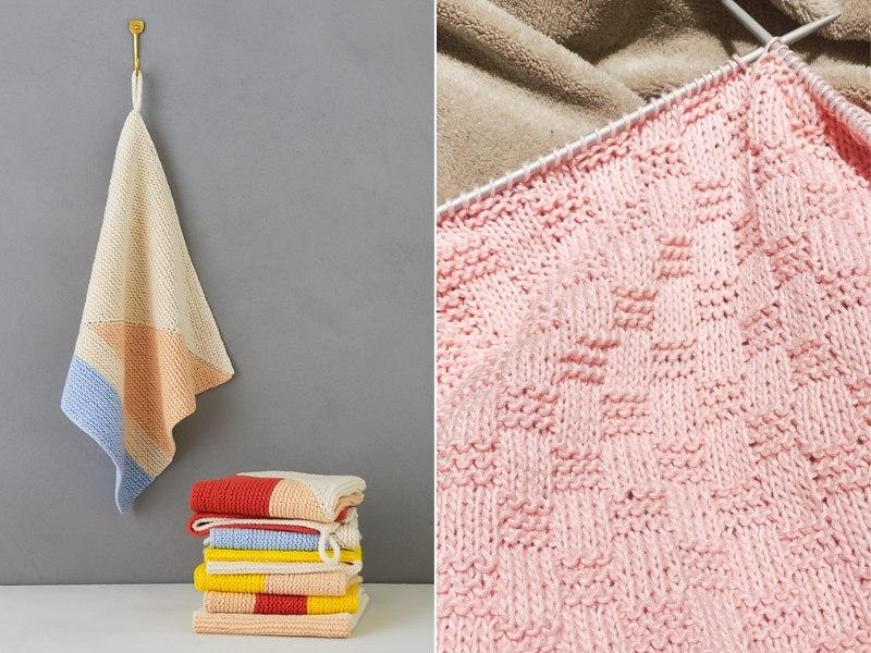 Dishcloths for Spting Free Knitting Patterns