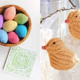 Easter Decorations Free Knitting Patterns
