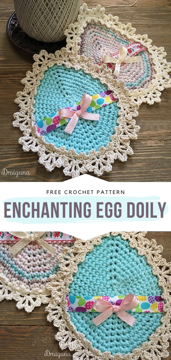 Crochet Egg Doily