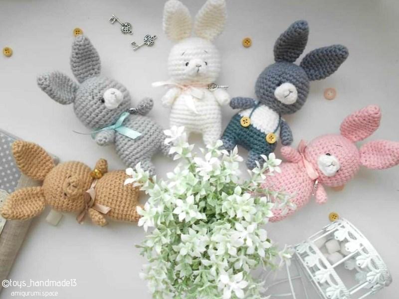 Sweet Little Bunnies Free Crochet Patterns