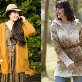 Can-do Cardigans Free Knitting Patterns
