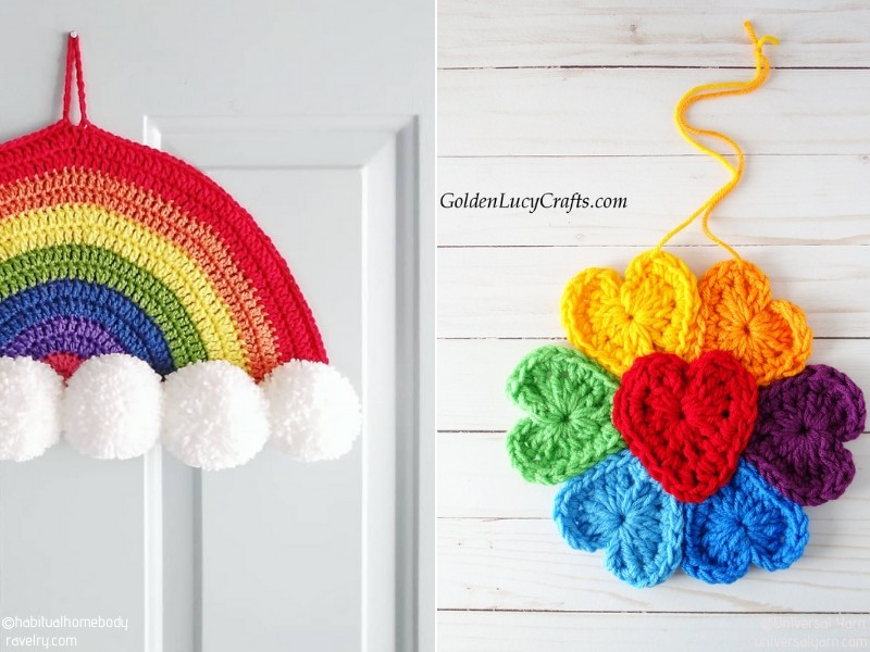 Happy Crochet Rainbows