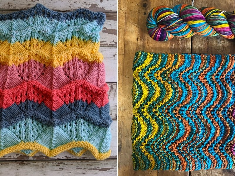 Multicolor Cowls Free Knitting Patterns