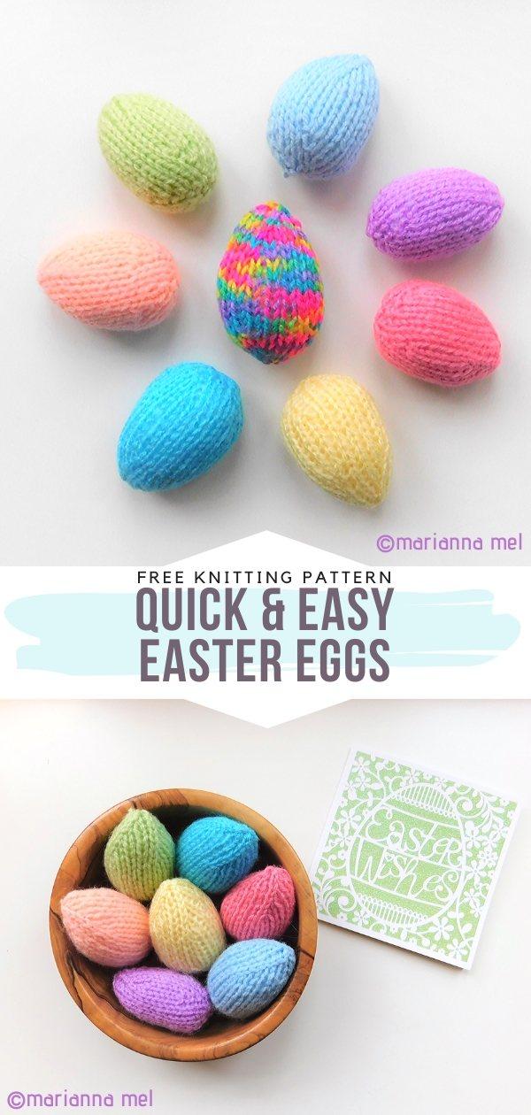 Knit Easter Eggs