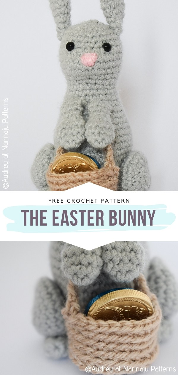 The Easter Bunny Free Crochet Pattern