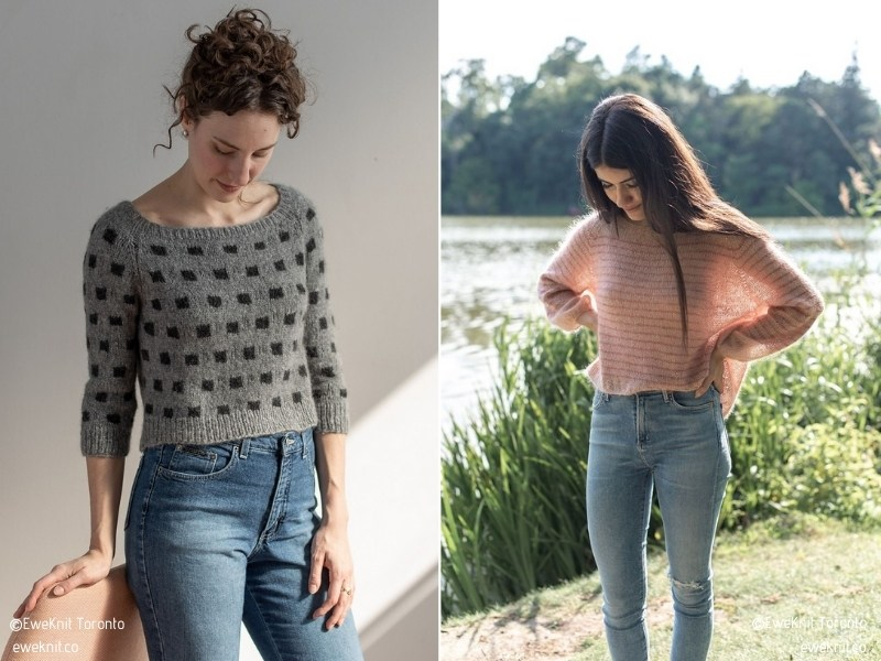 Simple Pullovers for Fall with Free Knitting Patterns