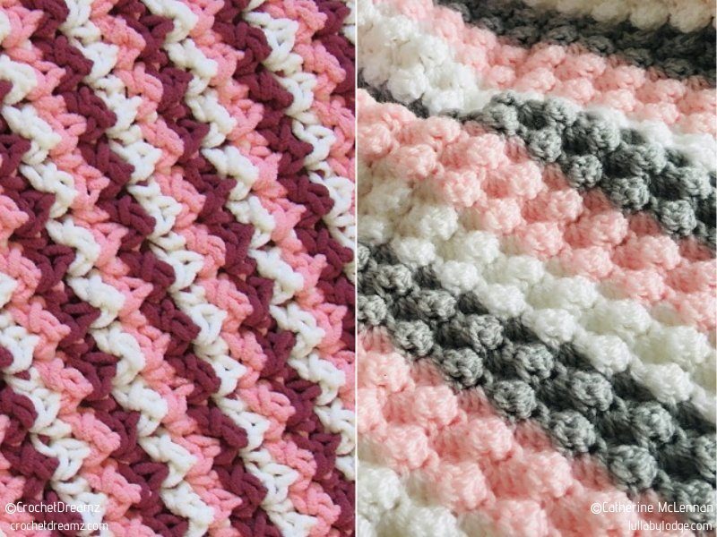Quick and Easy Baby Blankets Free Crochet Patterns