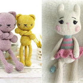 Awesome Amigurumi Cats Free Crochet Patterns