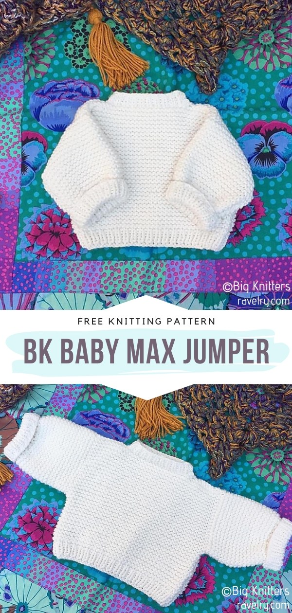 Simple Baby Pullovers Free Knitting Patterns
