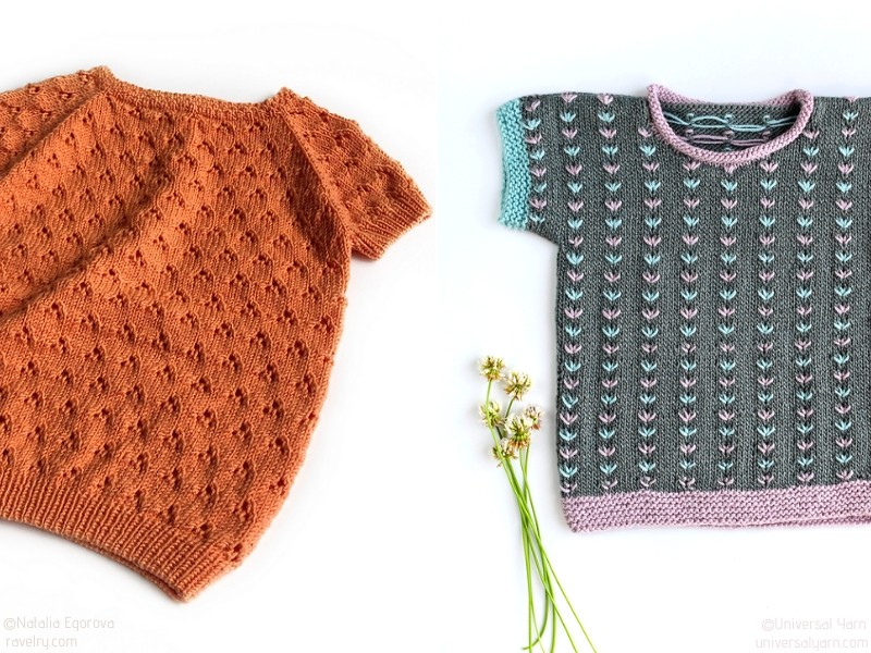 Lovely Baby Knit Tops
