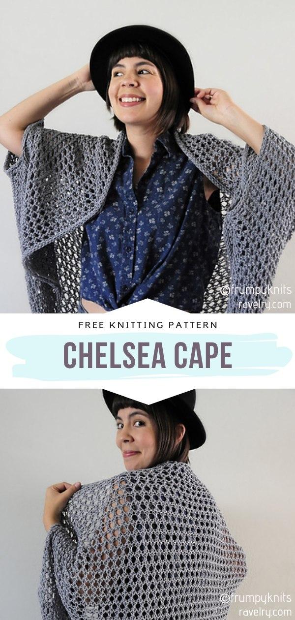 Chelsea Knit Cape