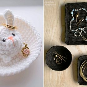 Chic Jewelry Dishes Free Crochet Patterns