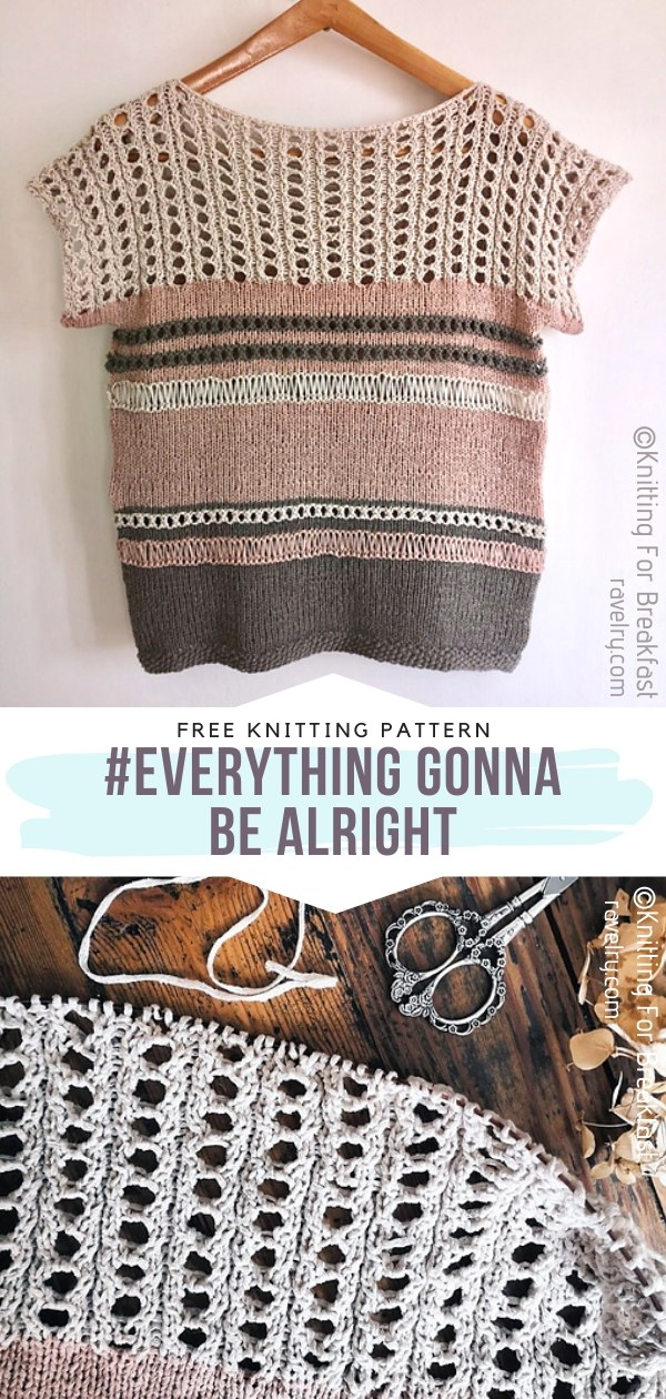 Everything Gonna Be Alright Knit Top