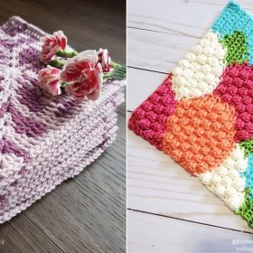 Flower Tapestry Squares Free Crochet Patterns