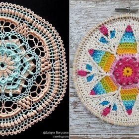 Charming Spring Mandalas Free Crochet Patterns