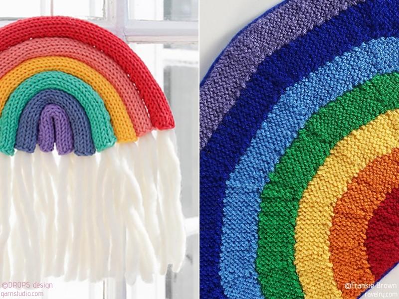 Happy Knit Rainbows