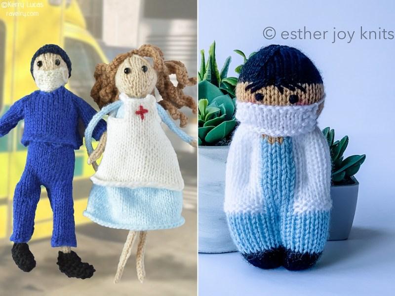 Knit Nurses and Doctors