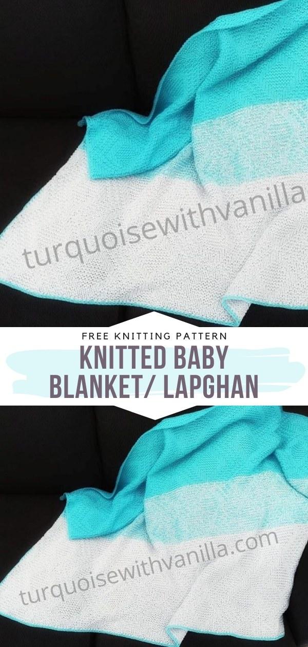 Knitted Baby Blanket_ Lapghan