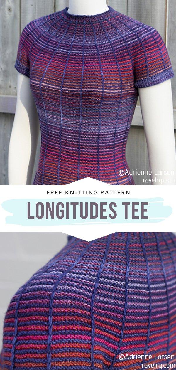 Longitudes Knit Tee