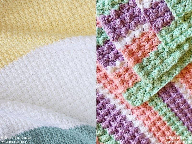 Lovely Textured Crochet Blankets