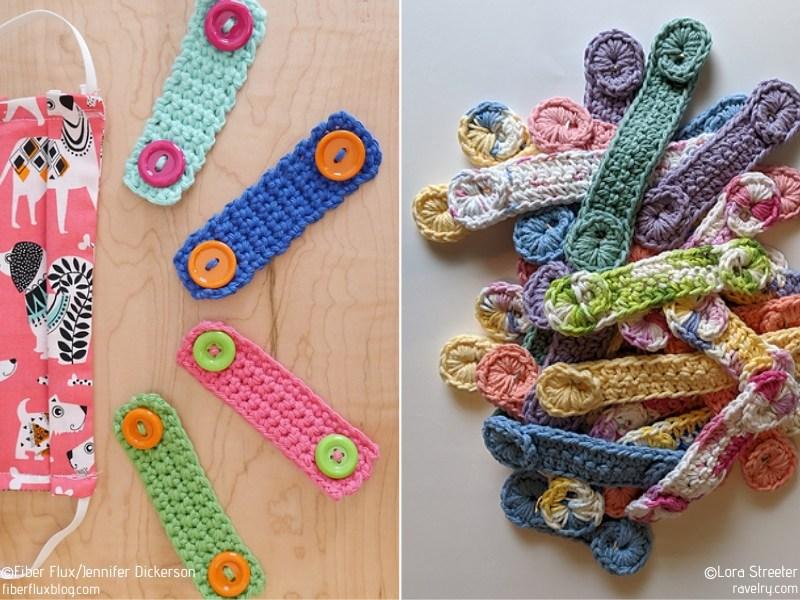 Crochet Mask Helpers Ear Savers