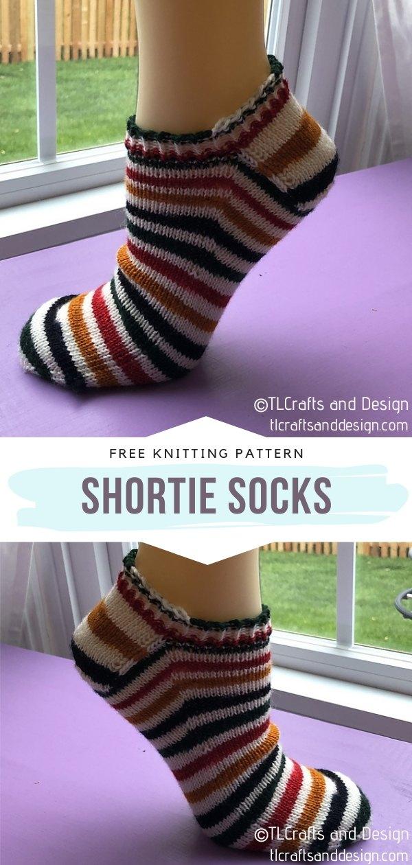 Shortie Knit Socks