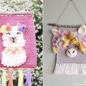 Sweet Crochet Wall Hangings Free Patterns