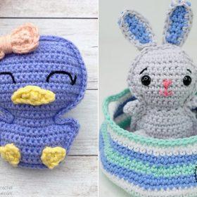 quick & easy easter ragdolls Free Crochet Patterns