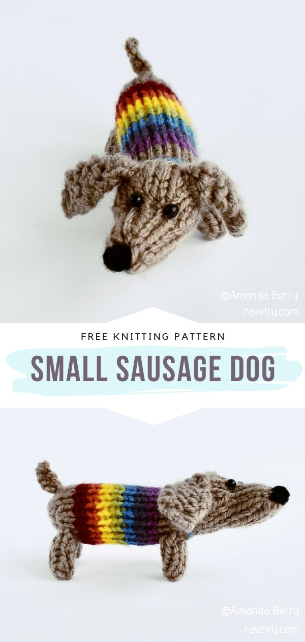 Knitted Dog Softie