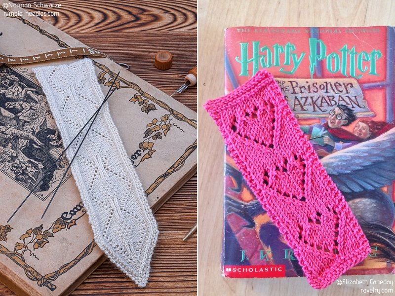 Beautiful Knit Bookmarks