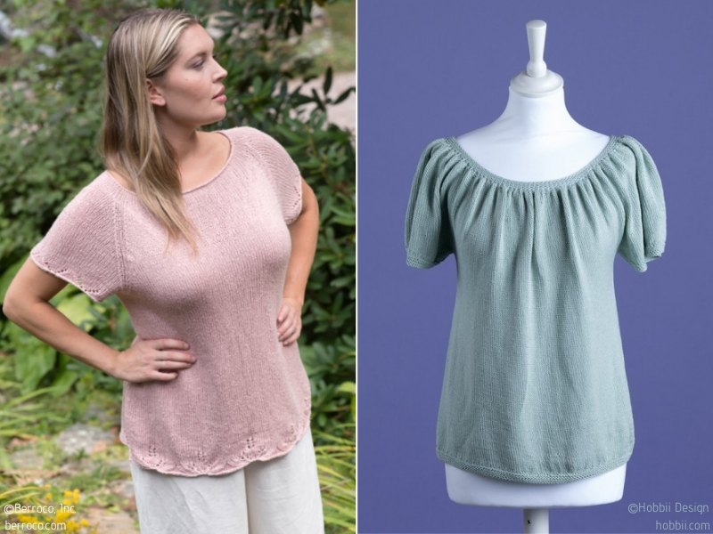 Knit Blouses for Spring