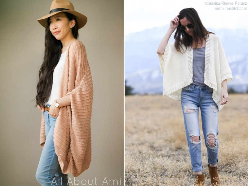 Chic Knit Capes