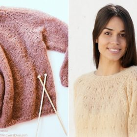 Classy Spring Pullovers Free Knitting Patterns