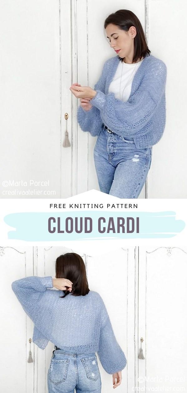 Cloud Knit Cardi