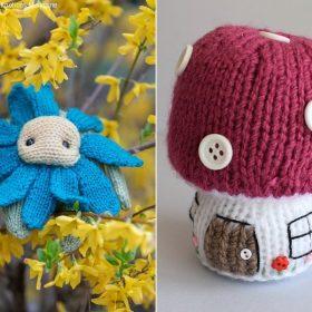 Decorative Softies Free Knitting Patterns