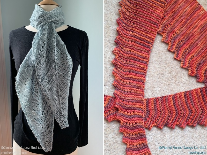 Everyday Scarves for Spring Free Knitting Patterns