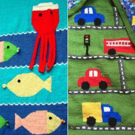 Happy Kids Blankets Free Knitting Patterns
