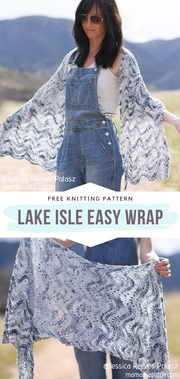Easy Knit Wrap