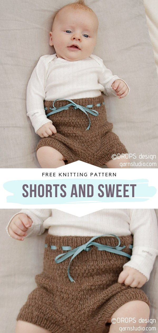 Shorts and Sweet Knit Baby Shorts