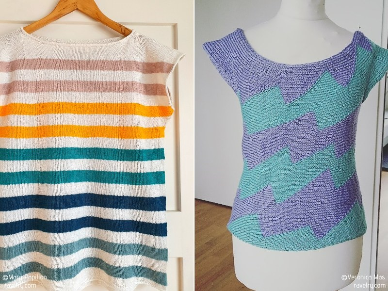 Spring Colors Knit Tees