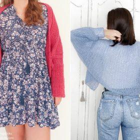 Stylish Shrugs Free Knitting Patterns