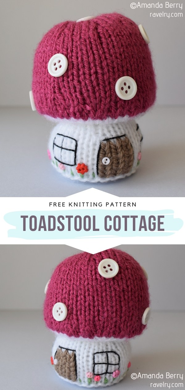 Toadstool Cottage Knit Softie