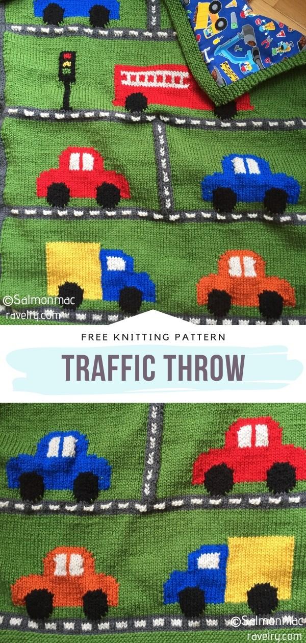 Traffic Knit Throw