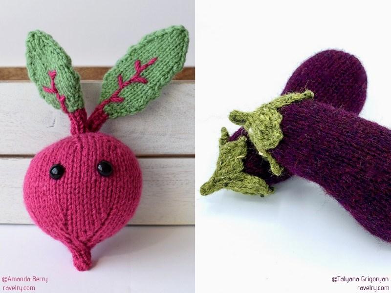 Knit Veggie Softies