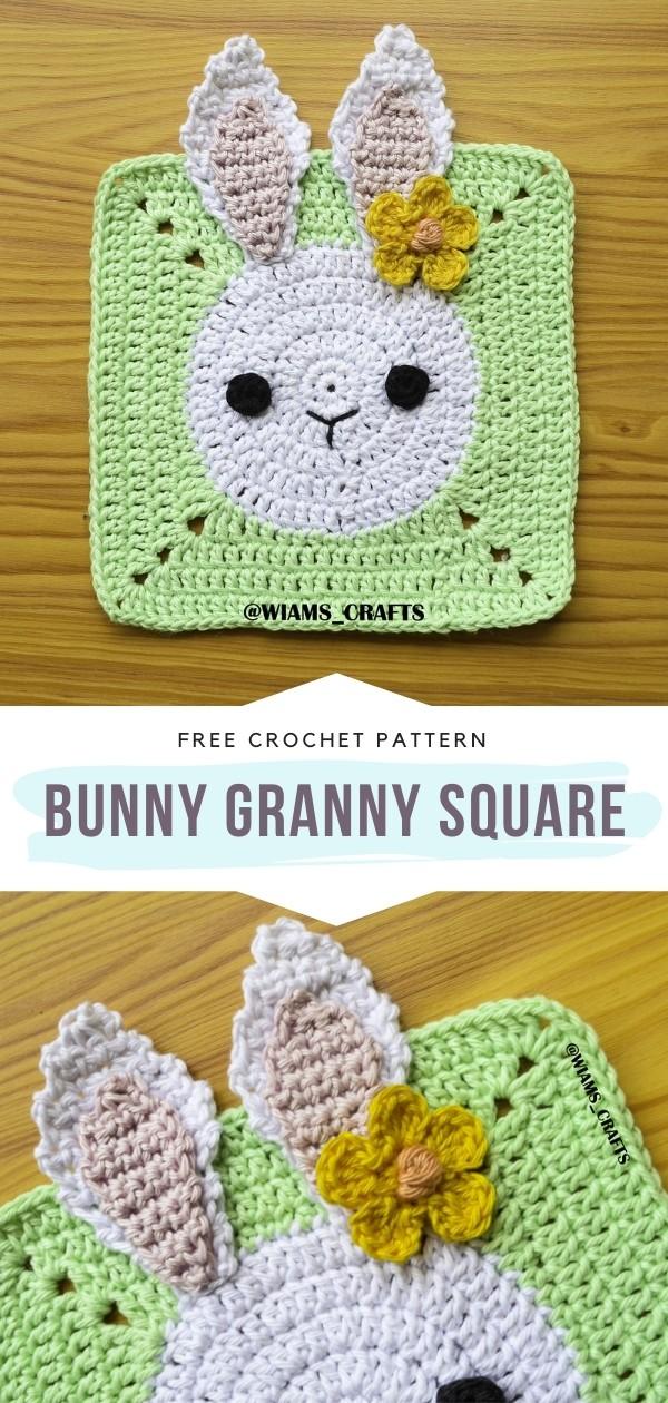 Bunny Granny Square