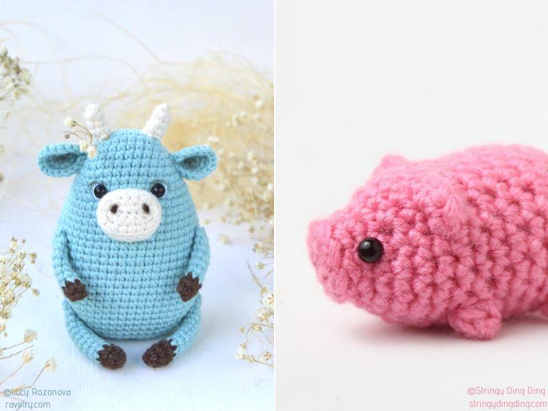 Amigurumi Farm Crochet Patterns