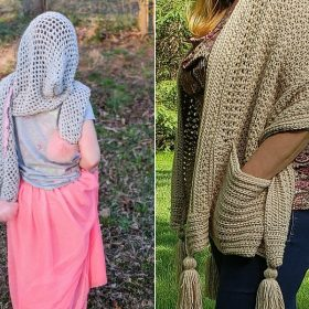 Awesome Hooded Wraps Free Crochet Patterns