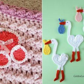 Delightful Appliques Free Crochet Patterns